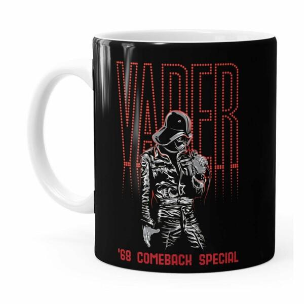 Caneca Star Wars Darth Vader Pop Star Branca