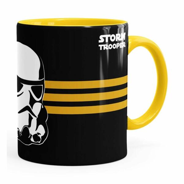 Caneca Star Wars Stormtrooper V01 Amarela