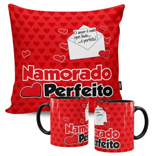 Kit Presente Namorado Perfeito Carta