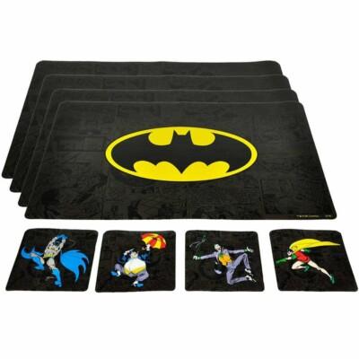 4 Jogos Americanos E Porta Copos Batman Enemies