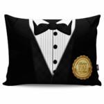 Almofada Black Tie Melhor Pai Do Ano 20x30cm