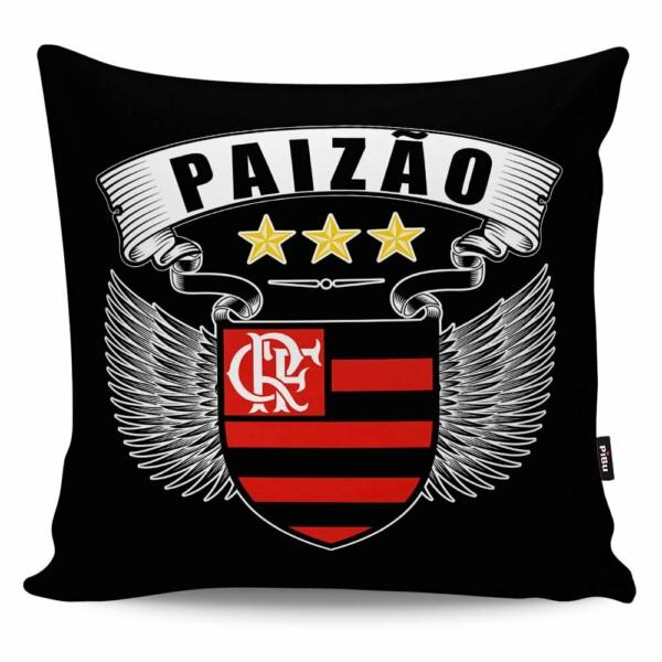 Almofada Paizão Flamengo Asas