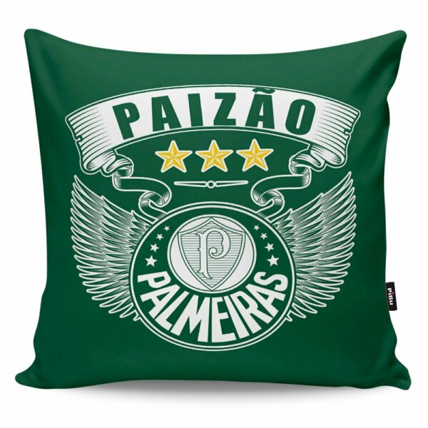 Almofada Paizão Palmeiras Asas