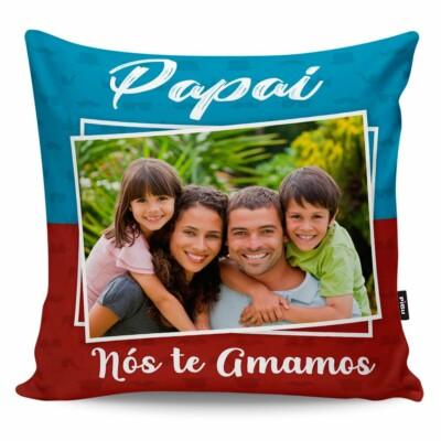 Almofada Personalizada Papai Nós Te Amamos