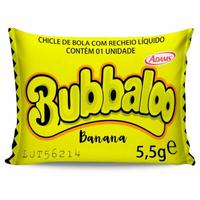 Almofada Retrô Bubballo Banana 20x30cm