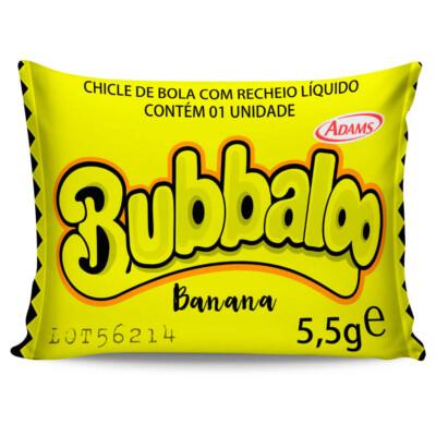 Almofada Retrô Bubbaloo Banana 20x30cm