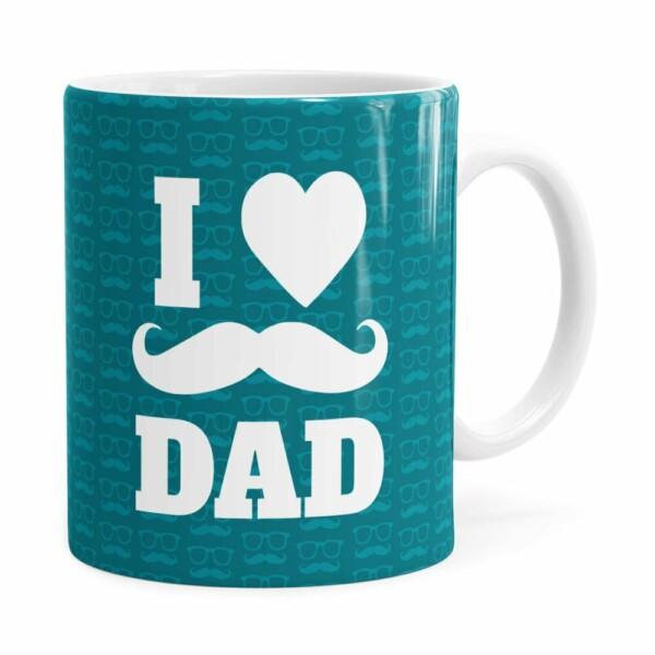 Caneca Dia Dos Pais I Love Dad V01