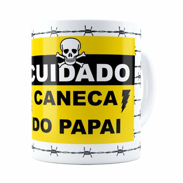 Caneca Do Papai Arame Farpado