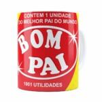 Caneca Pai Bombril 1001 Utilidades