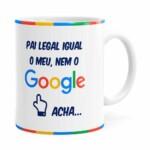 Caneca Pai Google V02 Preta