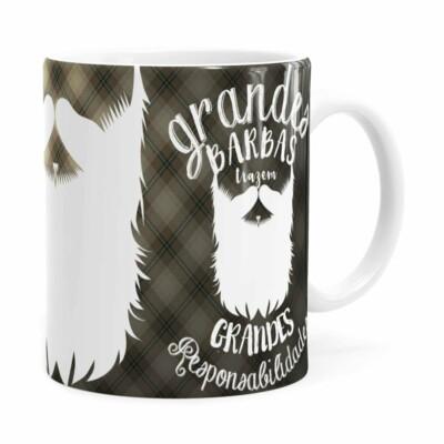 Caneca Pai Grandes Barbas V02