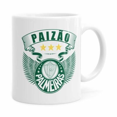 Caneca Personalizada Paizão Palmeiras Asas Branca