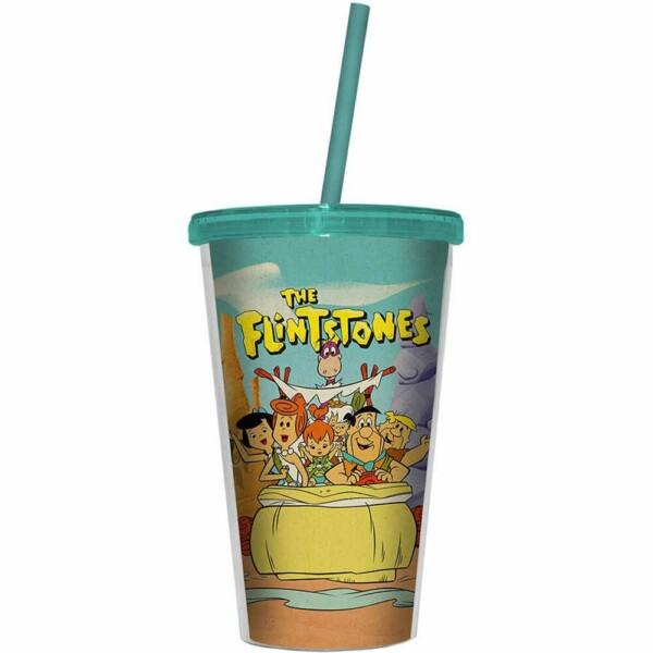 Copo Flintstones Family In A Car 500ml
