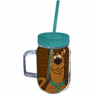 Copo Jarra Scooby-doo Face 550ml Acrílico