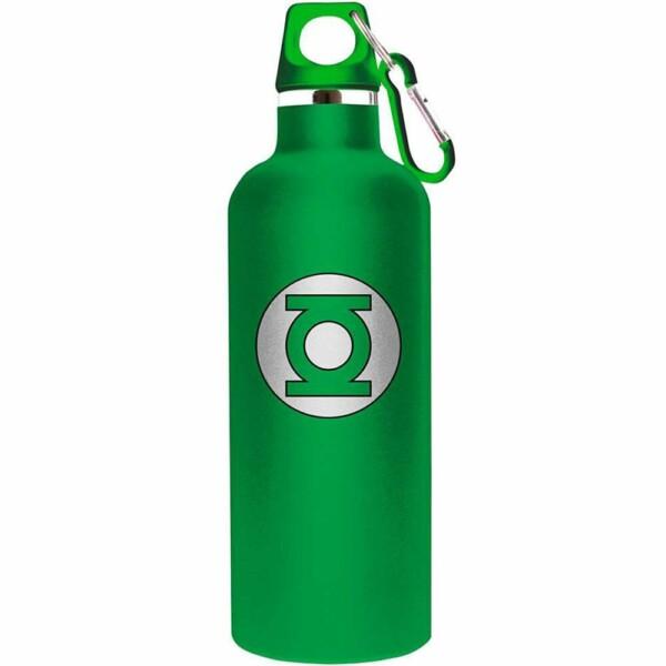 Garrafa Lanterna Verde Logo 750ml Alumínio