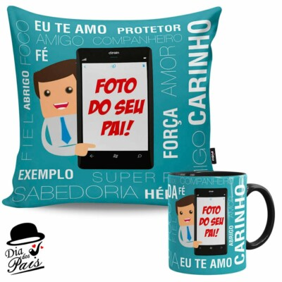 Kit Presente Pai No Celular