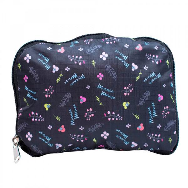 Bolsa Dobrável Minnie Preta 43x36cm