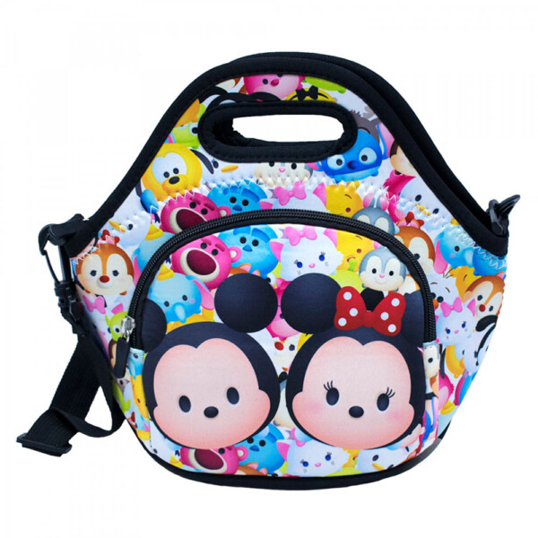 Bolsa Térmica Mickey Minnie Colorida Tsumtsum