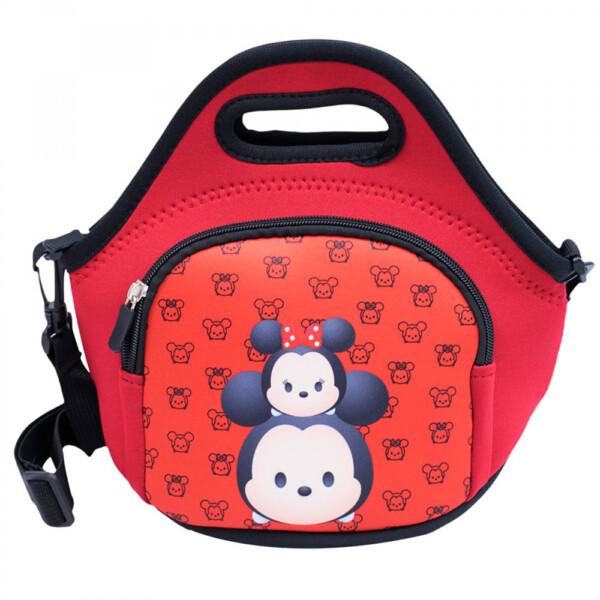 Bolsa Térmica Mickey Minnie Vermelha Tsumtsum