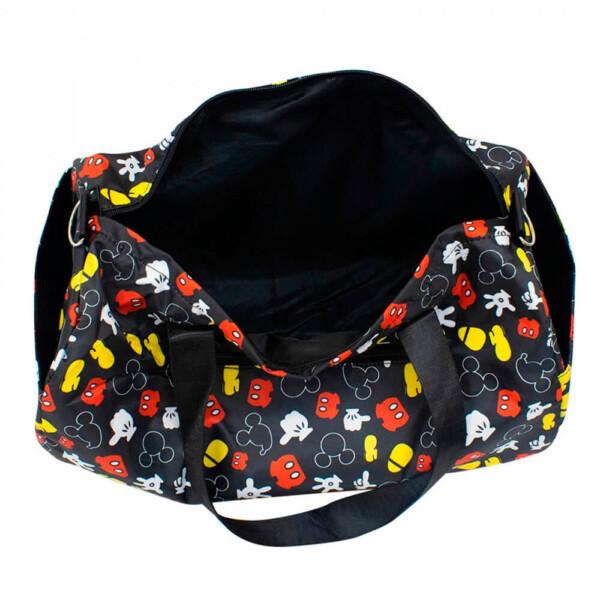 Bolsa Viagem Partes Mickey Academia Preta