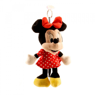 Boneca Minnie Chaveiro Vermelho Na Lata 23cm
