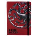 Caderno Game Of Thrones Targaryen