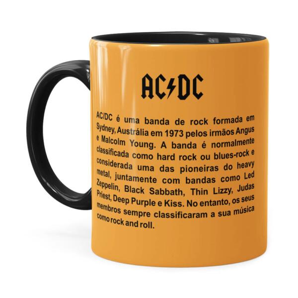 Caneca Ac Dc For Those About To Rock Preta