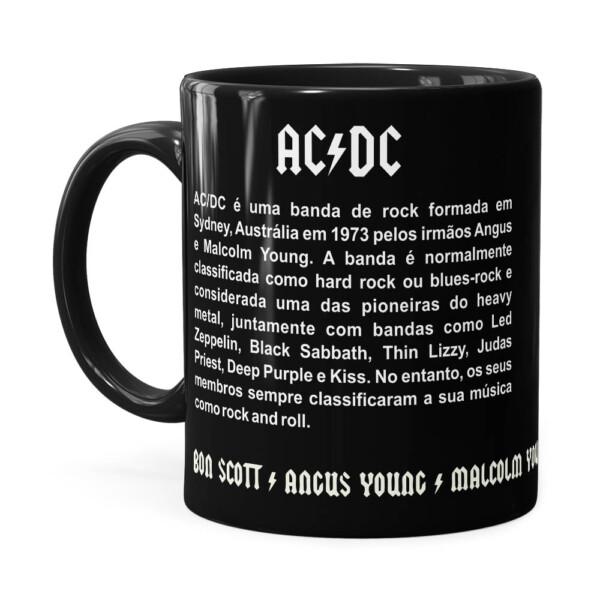 Caneca Ac Dc Let There Be Rock Preta