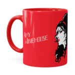 Caneca Amy Winehouse Art Vermelha