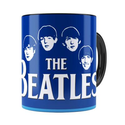 Caneca Beatles Story Liverpool Preta