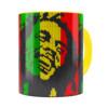 Caneca Bob Marley Mosaíco Amarela