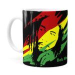 Caneca Bob Marley Se Deus Criou Branca