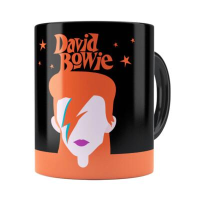 Caneca David Bowie Preta