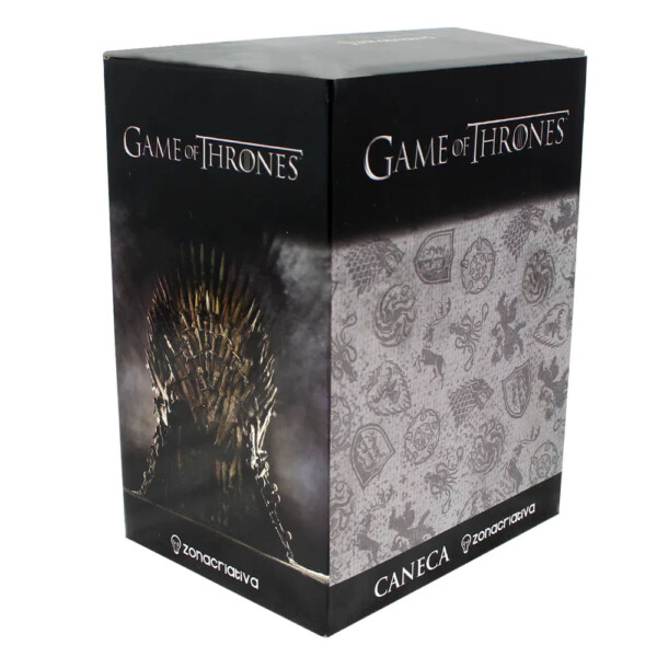 Caneca Game Of Thrones Alumínio