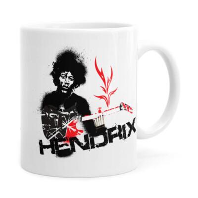 Caneca Jimi Hendrix Branca