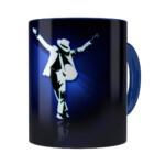 Caneca Michael Blue Dance Azul Escuro