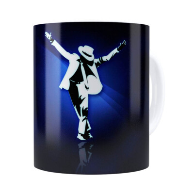 Caneca Michael Blue Dance Branca