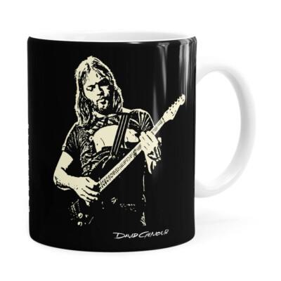 Caneca Pink Floyd David Gilmour Branca
