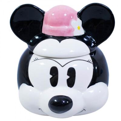 Caneca 3D Minnie Rosto de Porcelana
