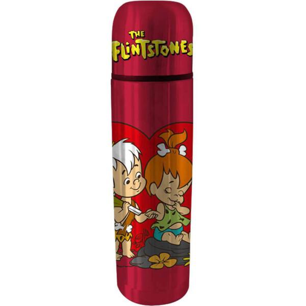 Garrafa Térmica Flintstones Bambam E Peebles