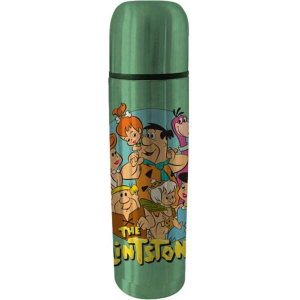 Garrafa Térmica Flintstones Family 500ml