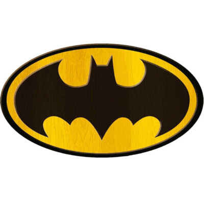 Placa Decorativa Batman Logo Big 40x30cm