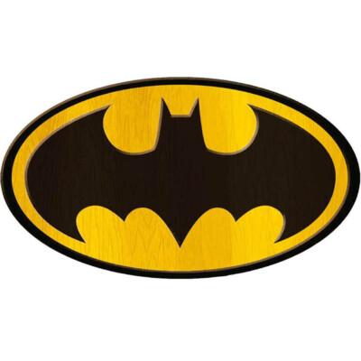 Placa Decorativa Batman Logo Big 40x30cm