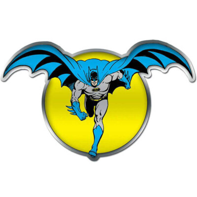 Placa Decorativa Batman The Moon 45x28cm