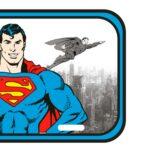 Placa Decorativa Superman Detroit City 30x15cm
