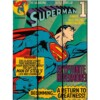 Placa Superman Flying Madeira 50×36cm