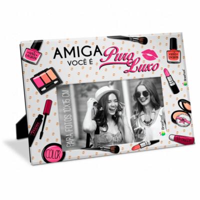 Porta Retrato Amiga Puro Luxo 10×15