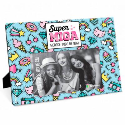 Porta Retrato Amiga Super Miga 10×15