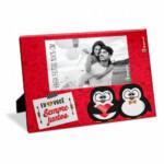 Porta Retrato Amor Sempre Juntos Pinguim 10×15