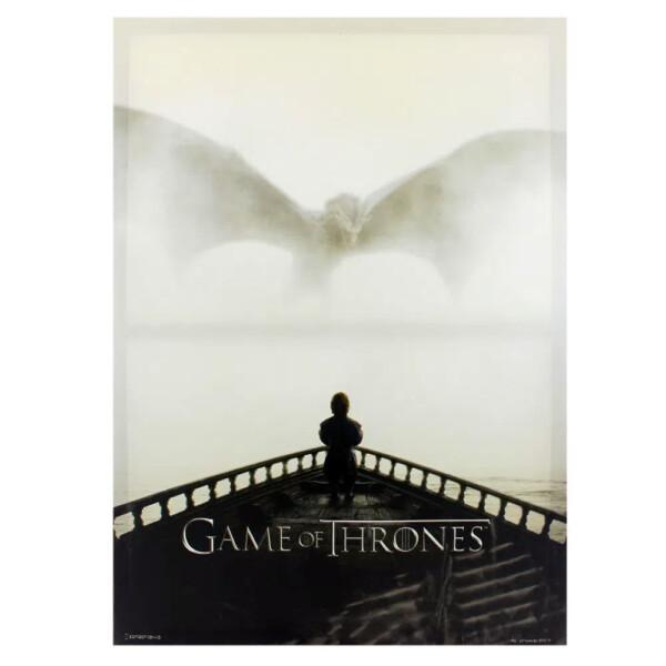 Quadro Game Of Thrones Dragon E Tyrion